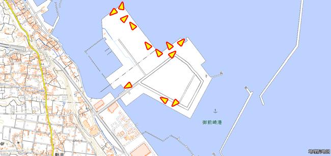 御前崎漁港イラストマップ