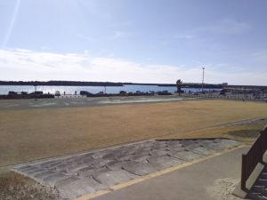 福田港公園から全景