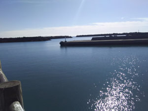 福田港桟橋先端