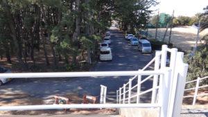 石津浜北側駐車スペース